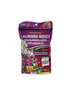 Engrais organique pour laurier rose bougainvillier et dipladénia